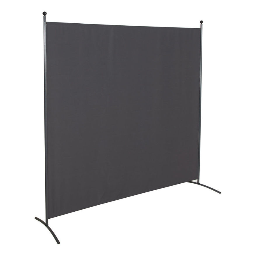 Picture of Office Partition Room Divider 72 inch non see through fabric GRAY