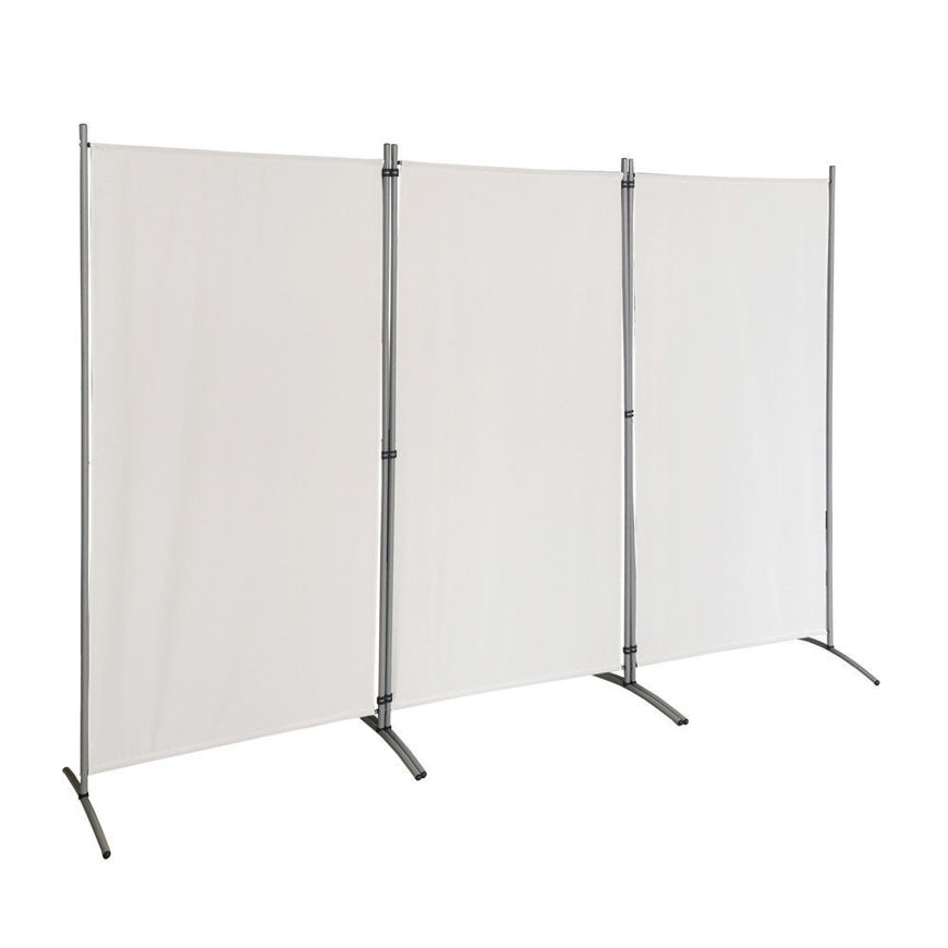 Picture of 3 Panel Room Divider - Cream